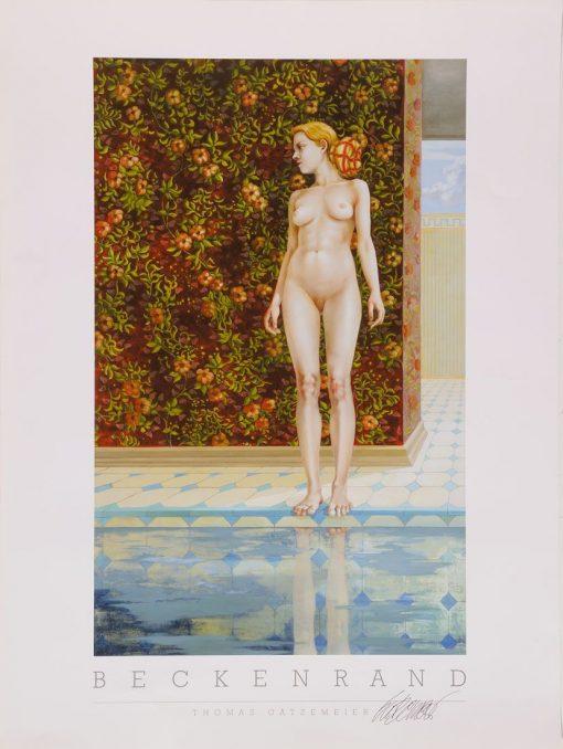 Thomas Gatzemeier | Beckenrand | Kunstdruck