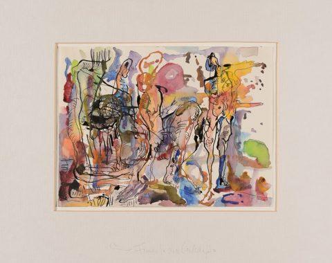 Thomas Gatzemeier | Frauen in einer Landschaft | 2007