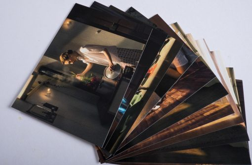 11 Kunstpostkarten im Normalformat von Horst Kistner