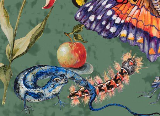 Tulpe, Apfel und Getier 2017 Pigmentdruck Detail 3