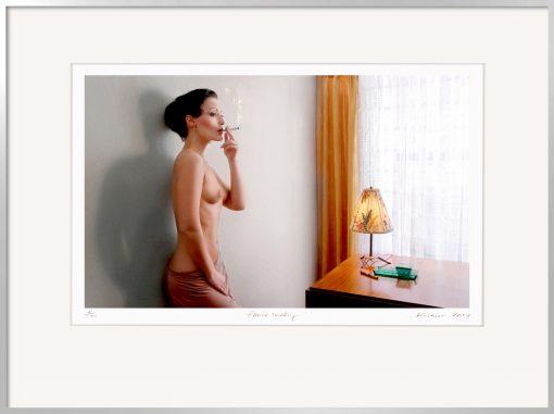 Horst Kistner | Fotografie | Elaine smoking