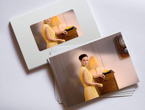 Horst Kistner Postkarte-Almost-nine-am