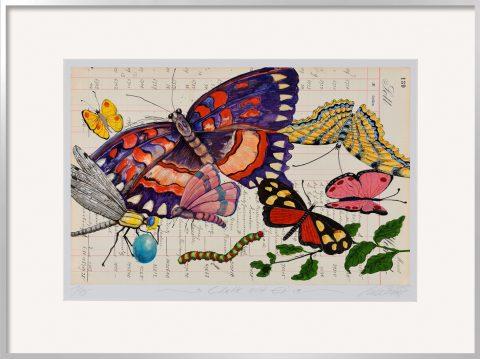 Thomas Gatzemeier Libelle mit Ei