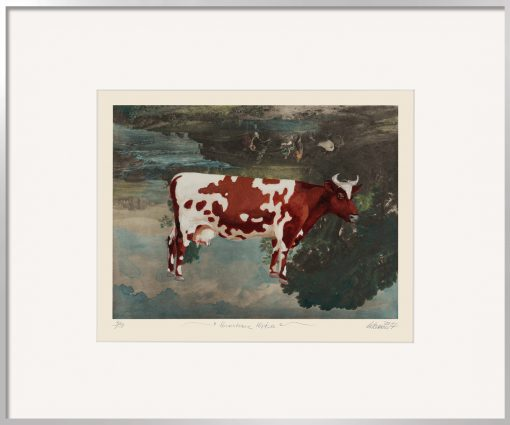 Thomas Gatzemeier | Unachtsame Hirten ist ein surreales Bild einer Kuh