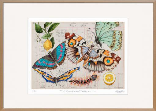 Bilder mit Schmetterlingen als Grafik von Thomas Gatzemeier