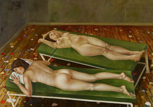 Studio-2007-Öl-auf-Leinwand-190-x-180-cm