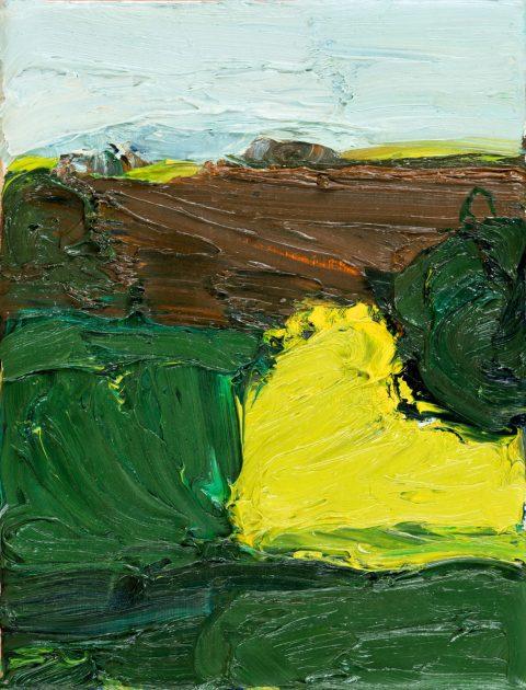 Torsten Ueschner 2014 Öl auf Leinwand 24 x 18 cm