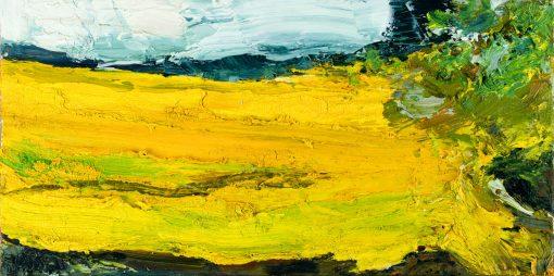 Torsten Ueschner Nr. 101 2016 Öl auf Leinwand 30 x 60 cm