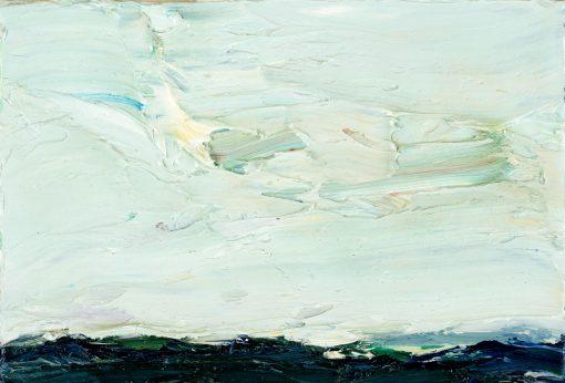 Pastos gemalte kleine Landschaft