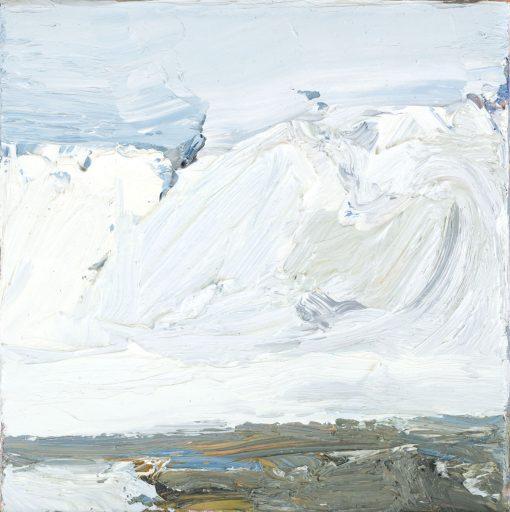 Torsten Ueschner Nr.73 2016 Öl auf Leinwand 20 x 20 cm