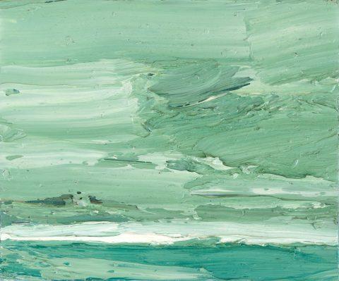 Torsten Ueschner Nr.86 2015 Öl auf Leinwand 22 x 27 cm