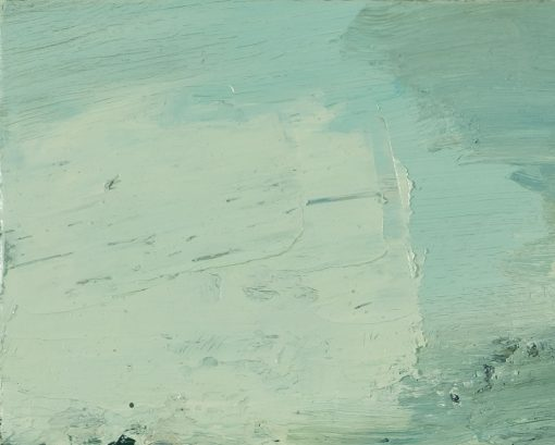 Faszinierende Nahaufnahme eines Gemäldes