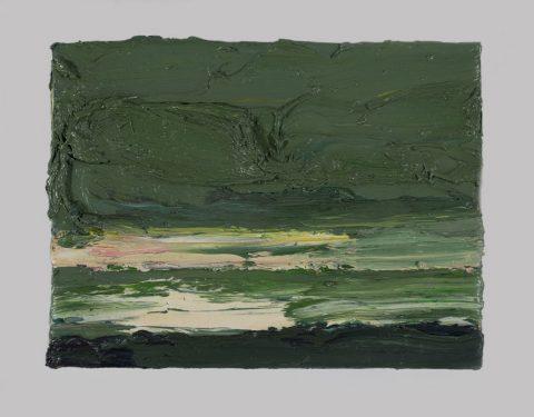 Torsten Ueschner Wild romantische Landschaftsmalerei Öl auf Leinwand