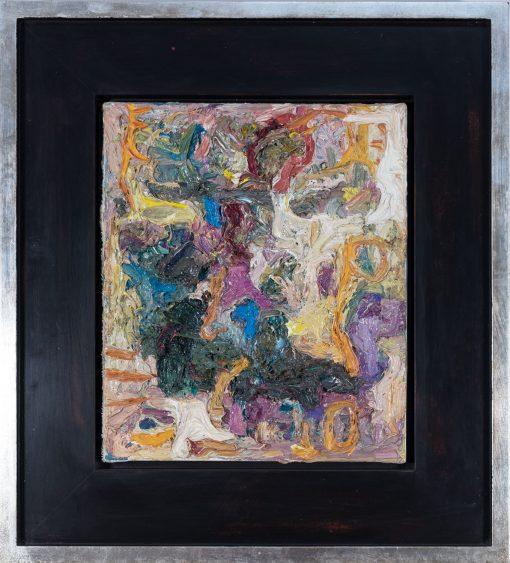 Figur ein Gemälde von Thomas Gatzemeier mit Künstlerrahmen