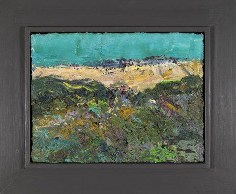 Landschaftsmalerei heute ist eher zweitrangig. Torsten Ueschner zeigt, dass sie lebt